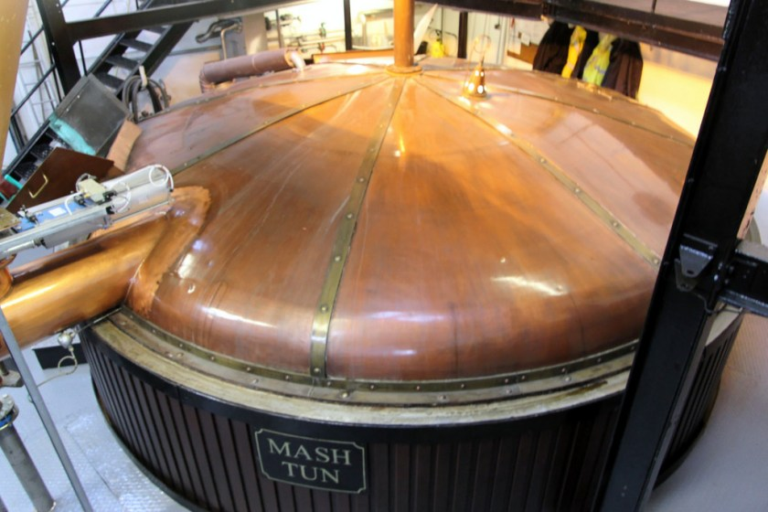 Mash tun at Bowmore