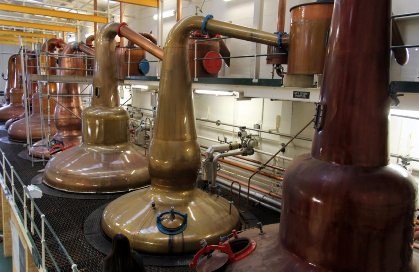 Pot still at Glen Grant