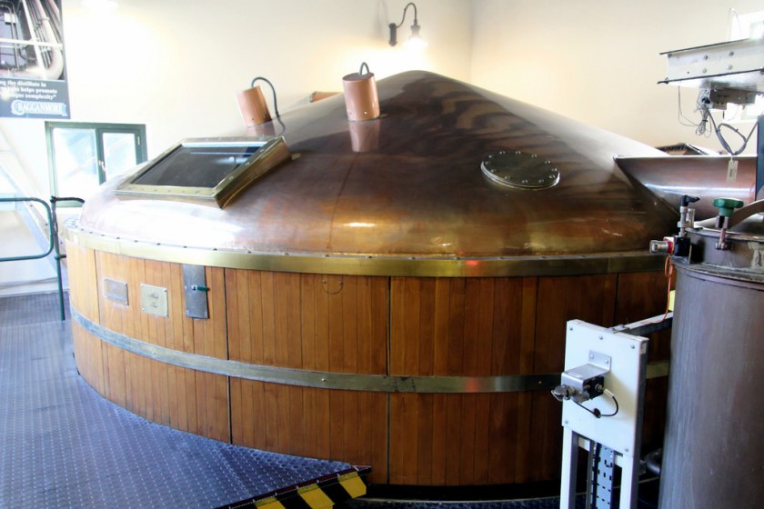 Mash tun at Cragganmore