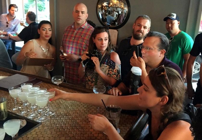 Bacardi National Daiquiri Day Bar Crawl 2016 - Inside the media pack