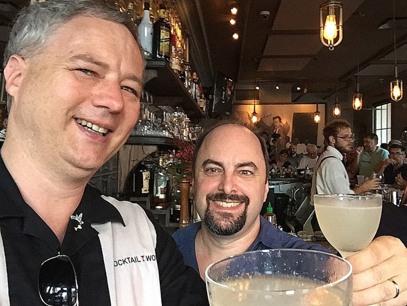 Bacardi National Daiquiri Day Bar Crawl 2016 - Cocktail Wonk and Paul Senft (rumjourney.com)