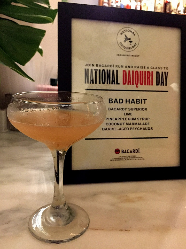 Bacardi National Daiquiri Day Bar Crawl 2016 - Johnny Codd at Palace Cafe