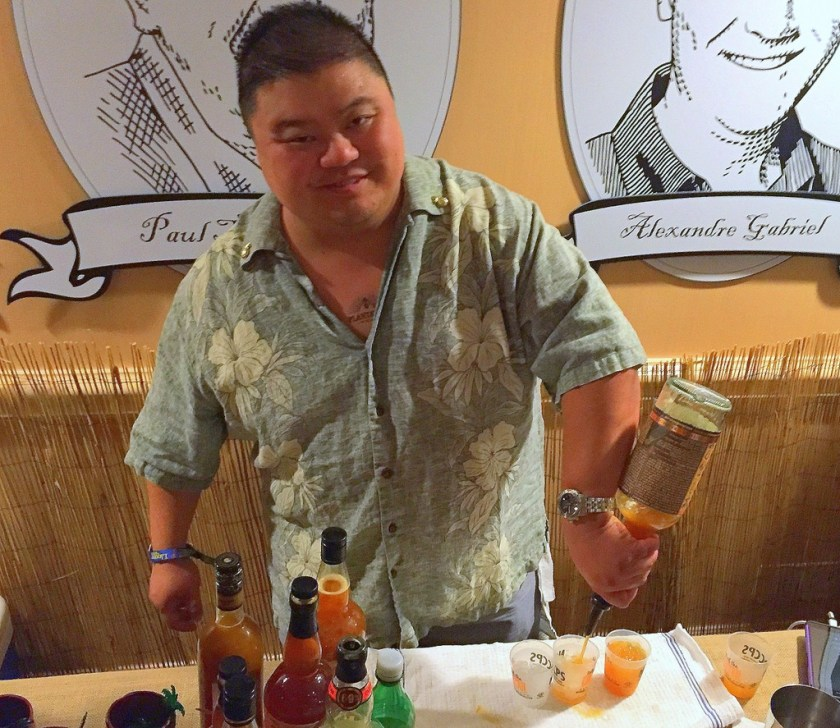 Rocky Yeh at Plantation OFTD launch at Tales of the Cocktail 2016.
