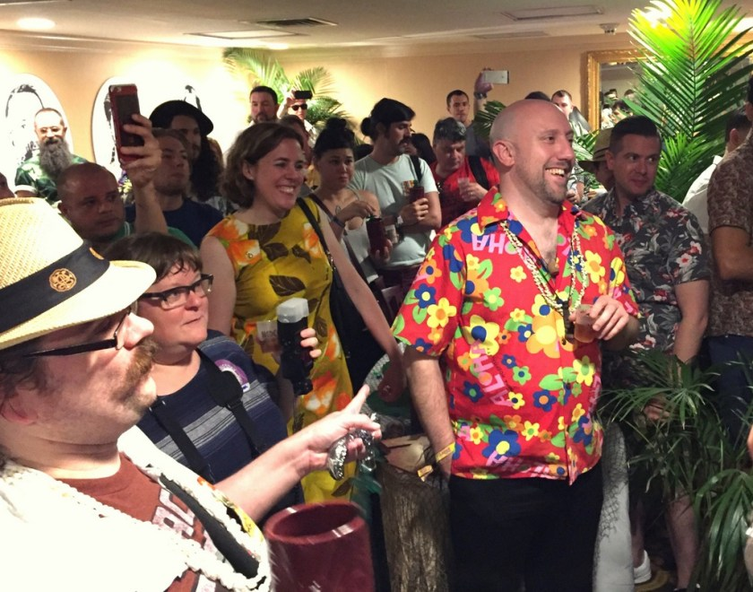 Martin Cate at the Plantation OFTD launch at Tales of the Cocktail 2016.
