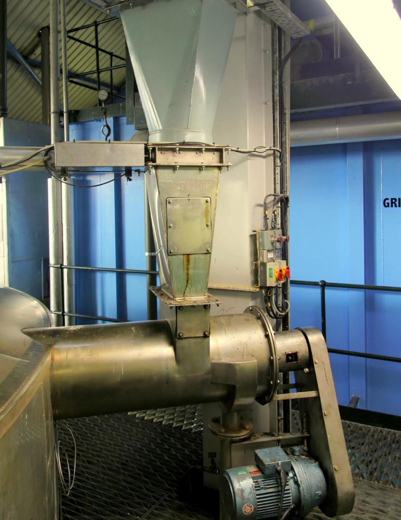 Mash tun at Laphroaig distillery