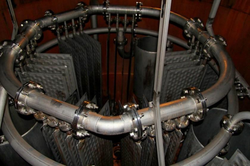 Pot still steam coil, Bowmore distillery