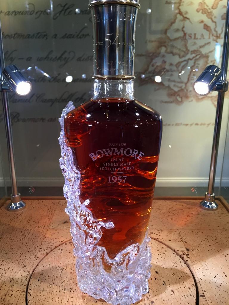 Bowmore 1957 at Bowmore distillery