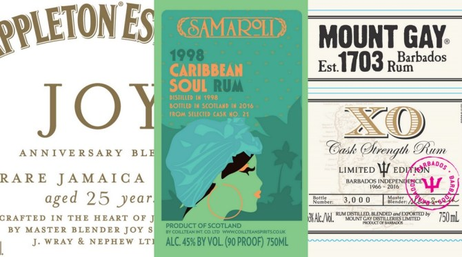 Stalking the TTB:  Upcoming U.S. rum releases from Mount Gay, Appleton, Samaroli, and more!  July and August 2016
