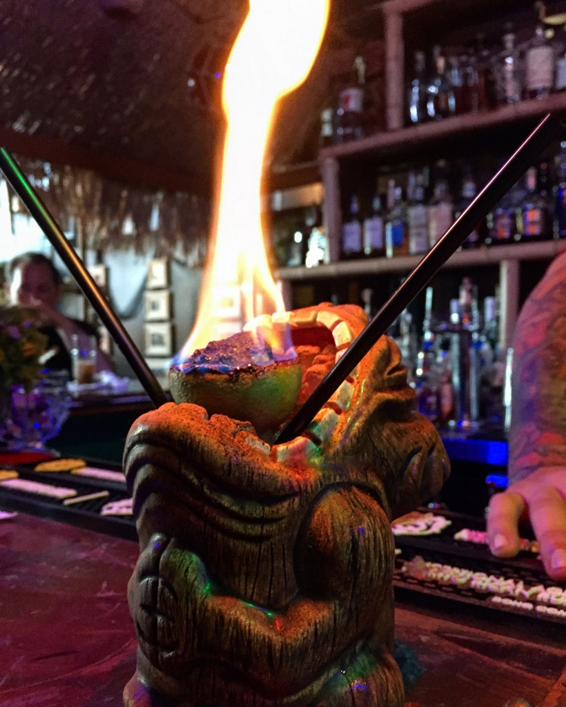 Stop Setting Your Rum on Fire! Tiki Fire Explained