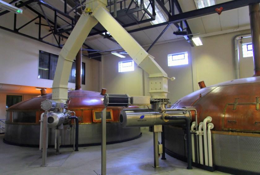Mash tuns, Glenfiddich Distillery