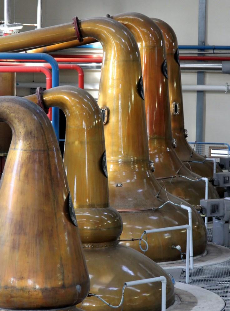 Pot Stills, Glenfiddich Distillery