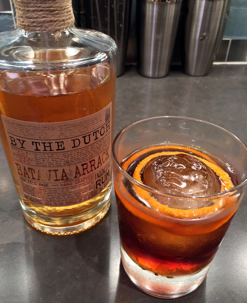 By the Dutch Batavia Arrack Negroni