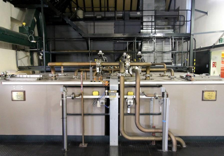 Heating tanks, Cragganmore distillery