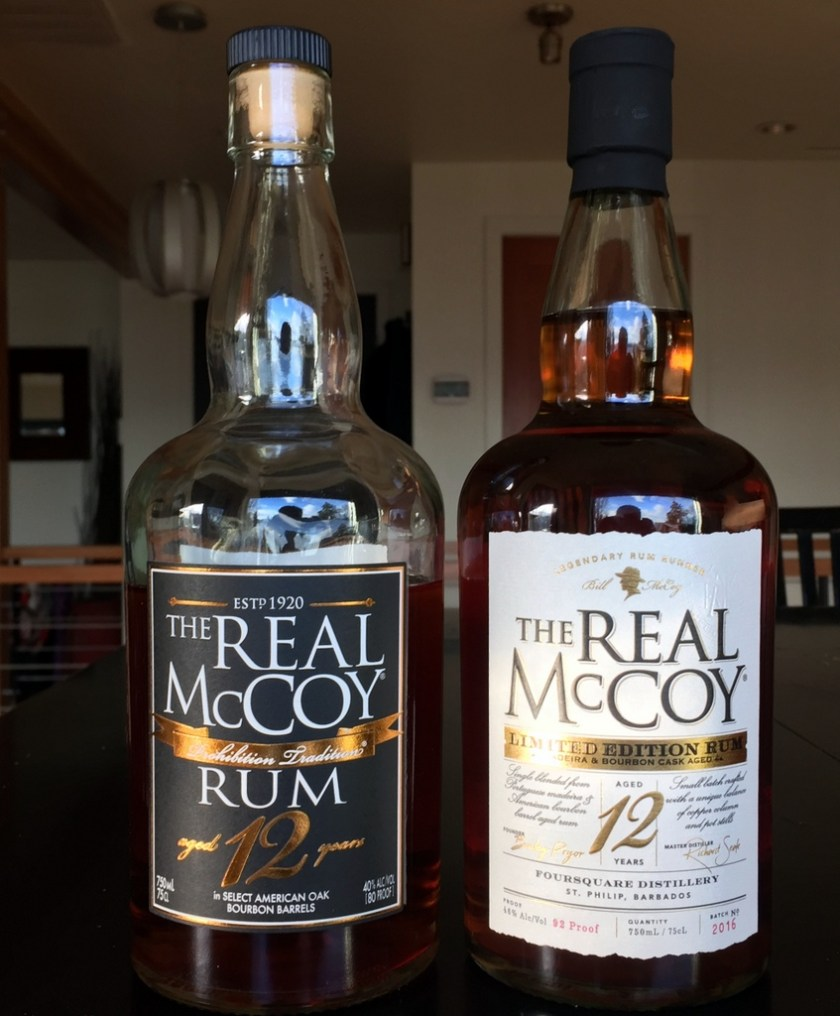 The Real McCoy 12 year and Limited Edition