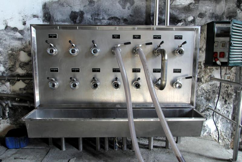 Blending equipment at Lustau