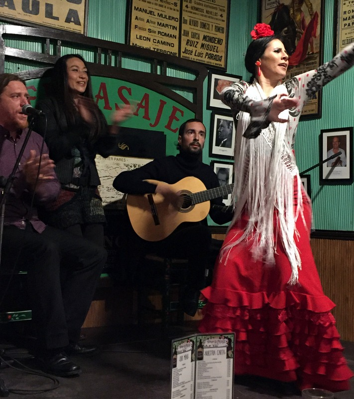 Flamenco at Tabanco El Pasaje
