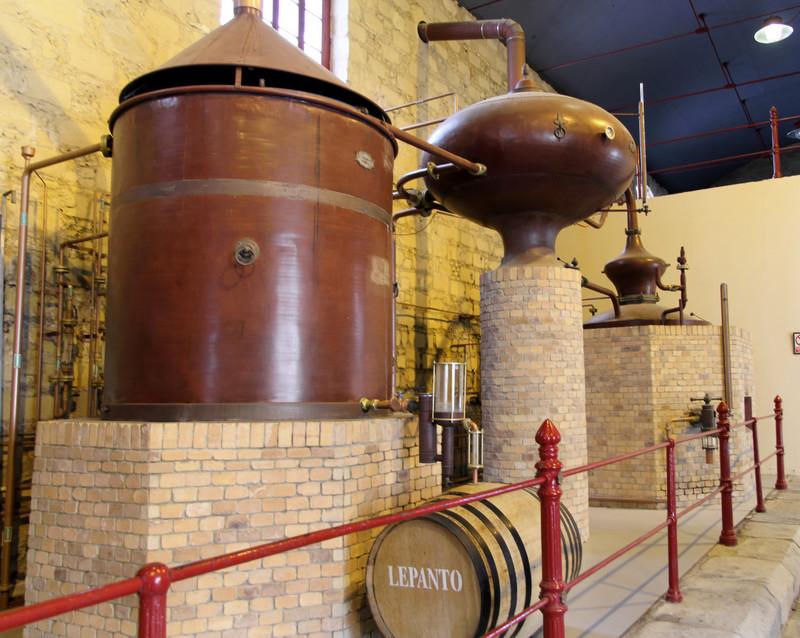 Lepanto brandy still at González Byass