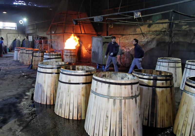 Cask charring, Antonio Páez Lobato cooperage