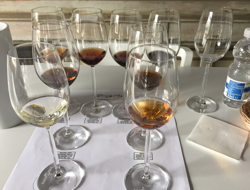Sherry tasting at González Byass