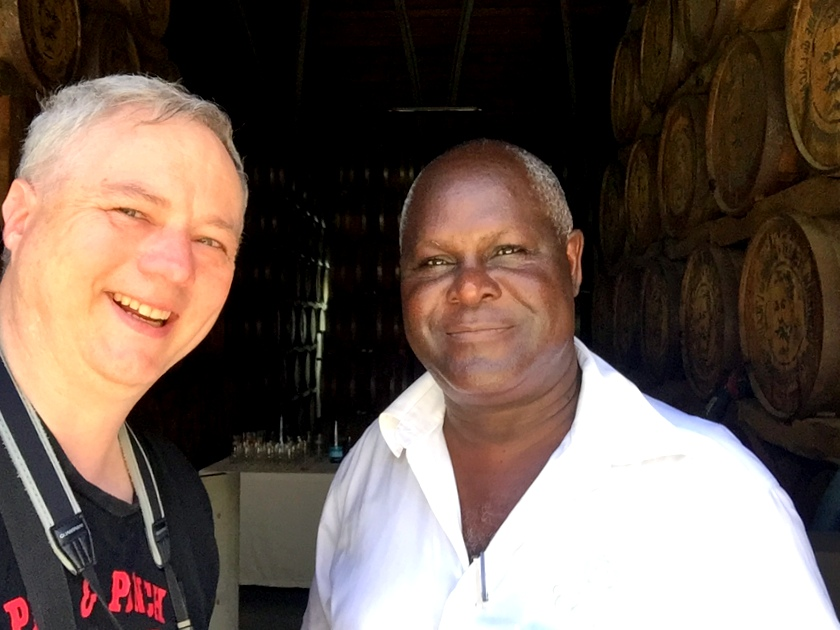 Cocktail Wonk and Robert Peronet, Clemént estate, Martinique