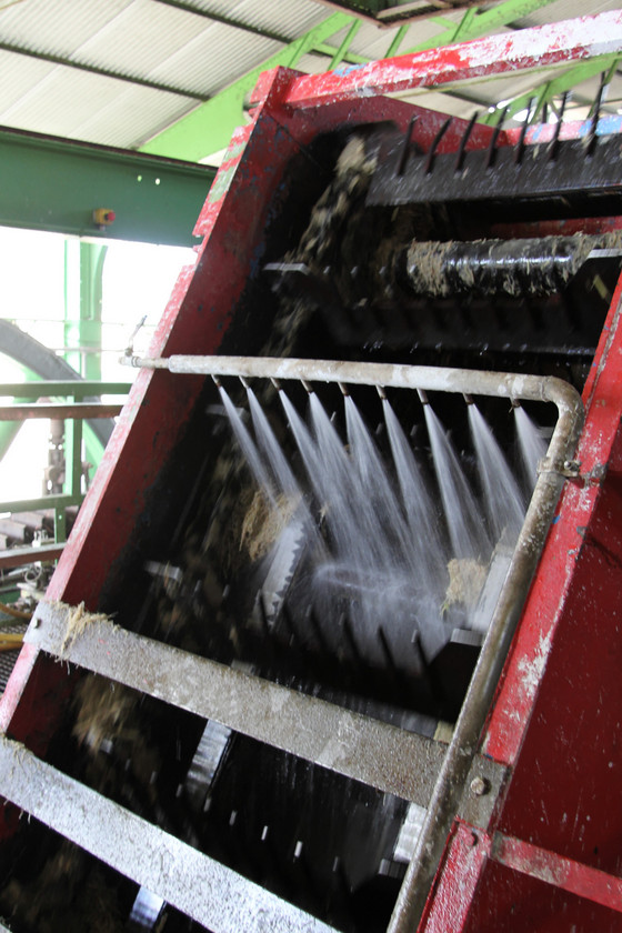 Cane crushing, Distillerie du Simon, Martinique