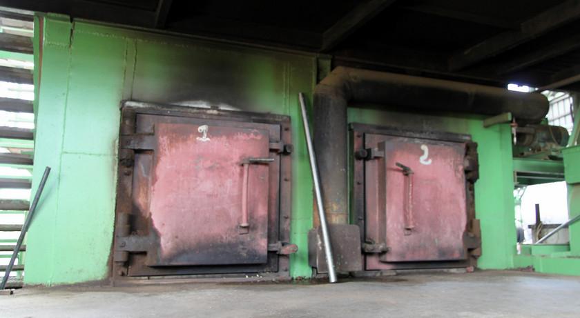 Furnace doors, Distillerie du Simon, Martinique