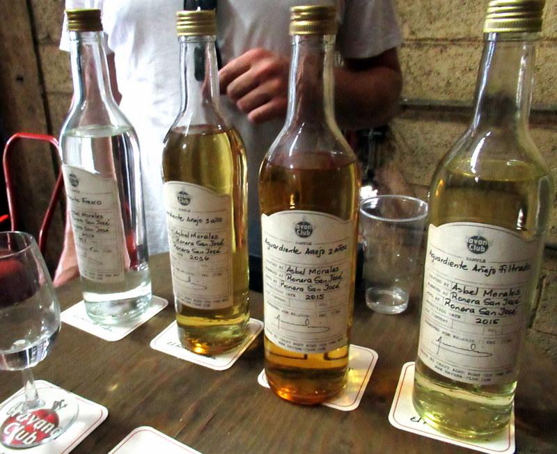 Aged rum bases at Havana Club's San Jose distillery
