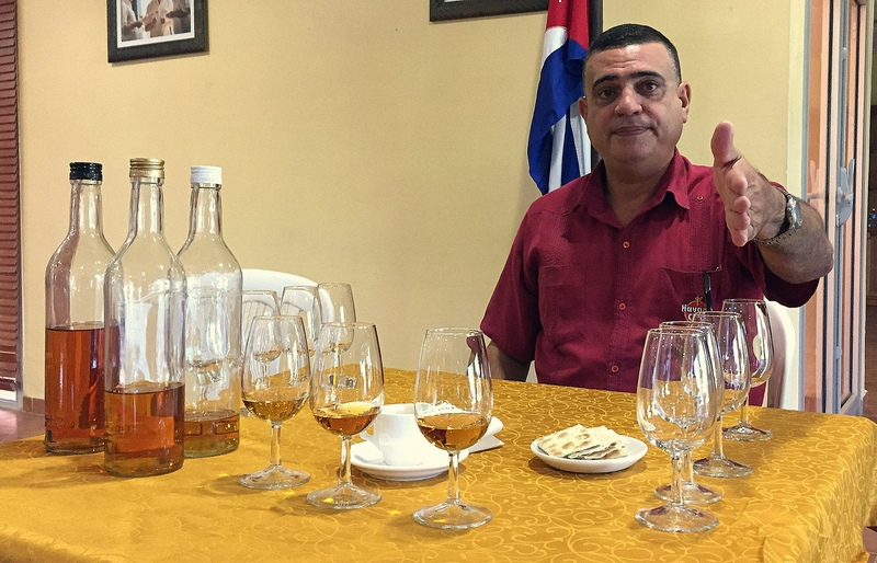 Asbel Morales, Havana Club San José distillery