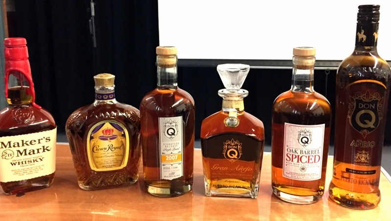 Spirits at the DonQ session, California Rum Festival 2017