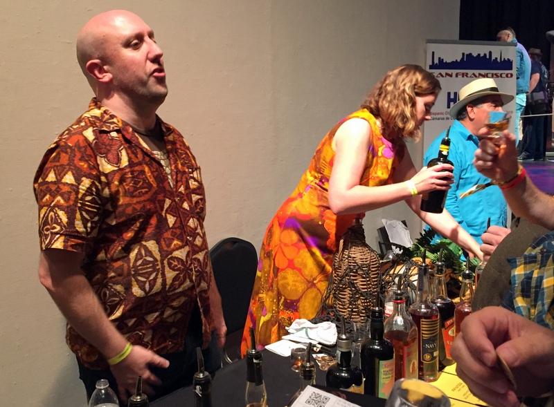 Martin & Rebecca Cate, California Rum Festival 2017