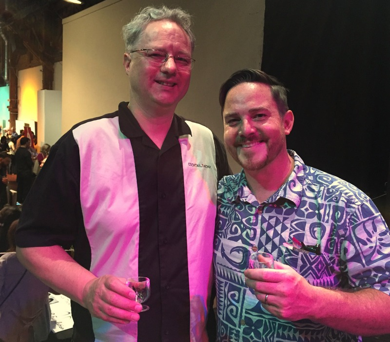Cocktail Wonk and fellow blogger Josh Miller (Inu A Kena), California Rum Festival 2017