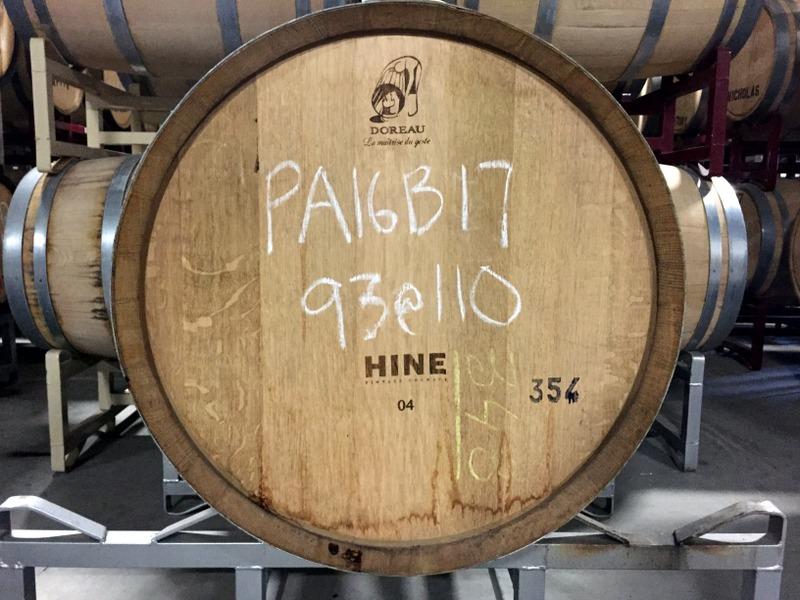 Hine Cognac barrel at Privateer Rum