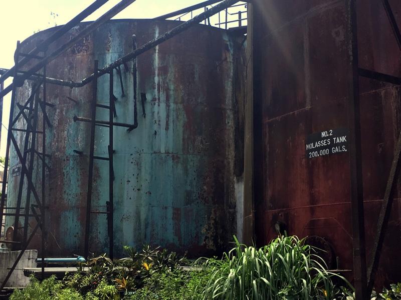 Molasses tank, Long Pond, Jamaica. Photo credit: Maison Ferrand