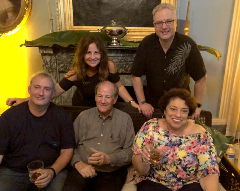 Richard Seale, Gayle Seale, Stephen Remsberg, Cocktail Wonk, Joy Spence