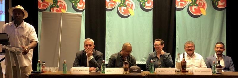 Ian Burrell, Richard Seale, Alexander Kong, Maggie Campbell, Nelson Hernandez, translator