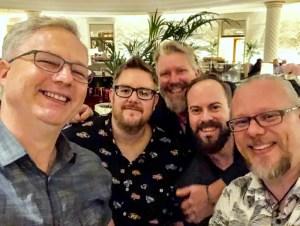 Cocktail Wonk, Steven James, John Gibbons, Tatu Kaarlas, Peter Holland