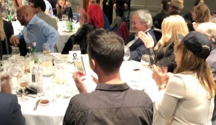 UK RumFest 2018 - Foursquare table, Golden Rum Barrel Awards