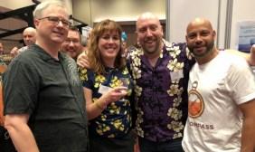 UK RumFest 2018 - Cocktail Wonk, Rebecca & Martin Cate, Paul Yellin