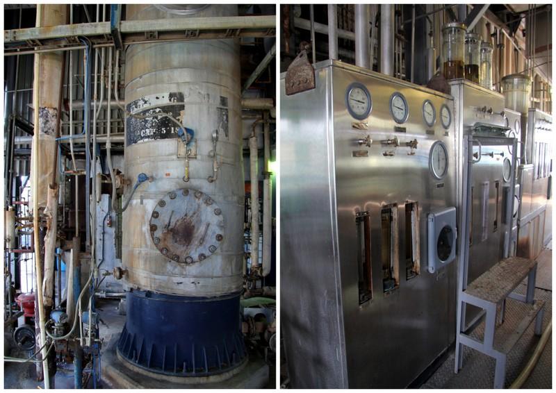 Column Still, West Indies Rum Distillery, Barbados