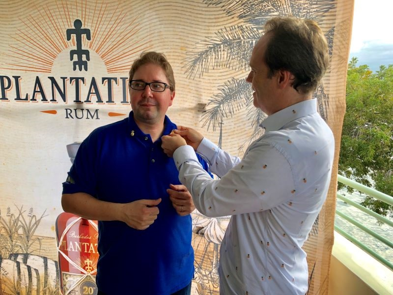 Guillaume Lamy and Alexandre Gabriel of Plantation Rum