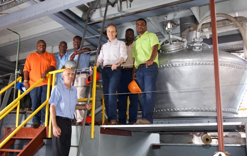 West Indies Rum Distillery team