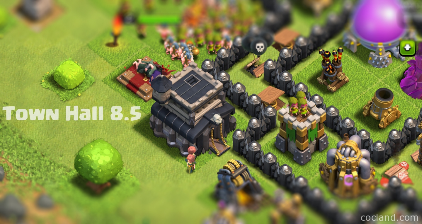 town hall 8 5 and 9 5 guide selling clash of clans accounts