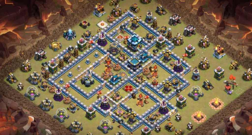 Base WAR TH 13 Terkuat