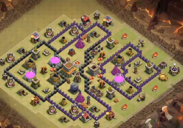 BEST Base WAR TH 8 Anti Naga