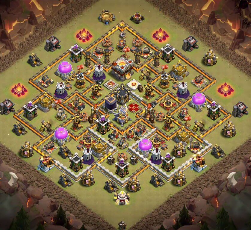 Base WAR COC TH 11 Terkuat 2020