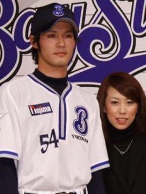 小杉陽太と妻(嫁)