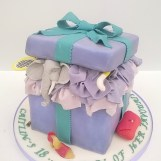 """My Favourite Things"" Birthday Cake by Cocoa & Whey Cakes in Winchester, Hampshire"