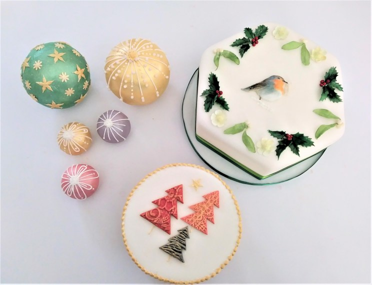 Christmas Cakes from Cocoa & Whey Cakes in Winchester, Hampshire