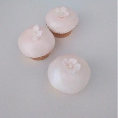 Cherry Blossom Mini Cupcakes by Cocoa & Whey Cakes