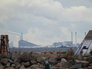 Blick vom Hafen Malmös